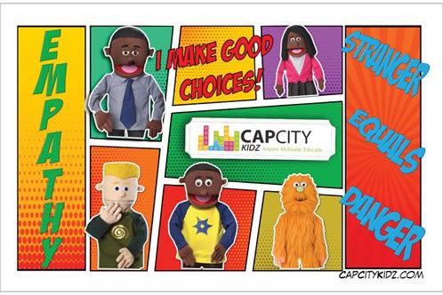 "Cap City Kidz Poster - 11"" x 17"""