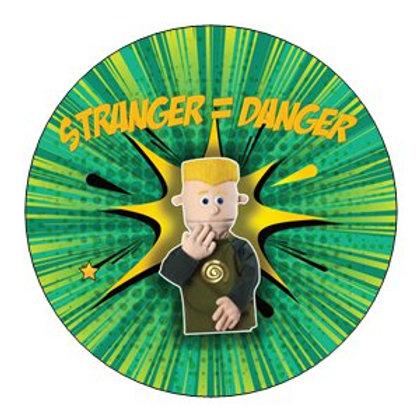 Stranger = Danger - Sticker x24