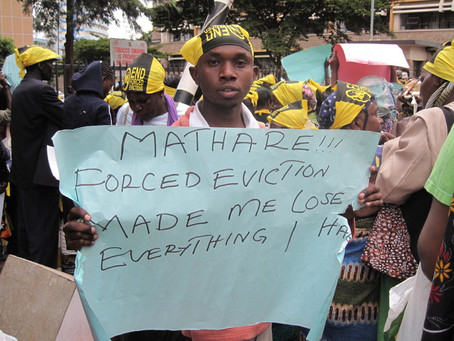 Do Not X Me: end forced evictions