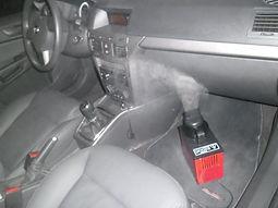 Higienização de ar