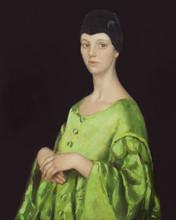 Fedor Olevskiy. Portrait of Anastasia Mironova.