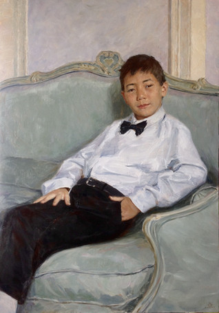 Fedor Olevskiy. Portrait of Ruslan Ramzay.