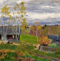 Fedor Olevskiy. Autumn in the village