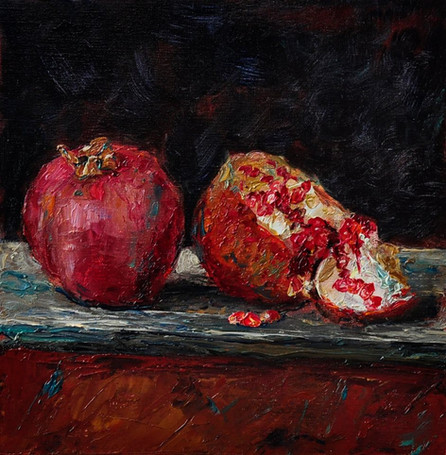 Fedor Olevskiy. Two Fruits of Pomegranate