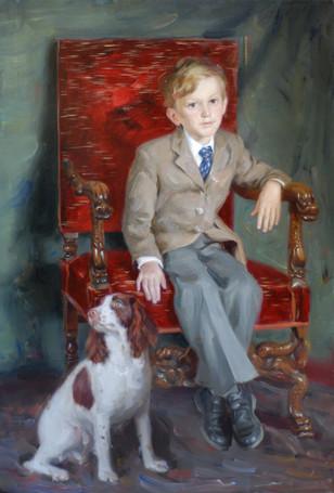 Andrey Burlakov. Portrait of Alexander Bevan
