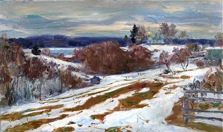 Fedor Olevskiy. Early spring