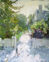 Fedor Olevskiy. Landscape at Bulby Hall No5.