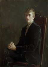 Andrey Burlakov. Portrait of Euan Ramsay