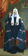 Fedor Olevskiy. Portrait of His Holiness Patriarch Kirill of Moscow and All Russia