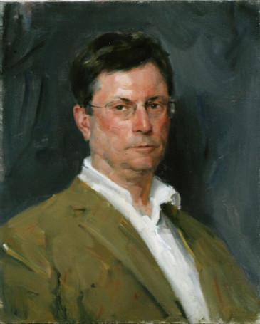 Andrey Burlakov. Portrait of Professor Neil Kent.