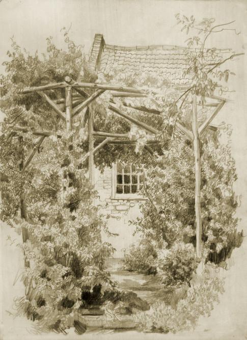 Andrey Burlakov. View of Ermin House No. 1