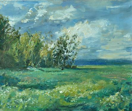 Fedor Olevskiy. Windy day