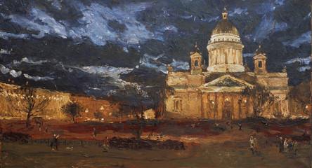 Fedor Olevskiy. St. Isaces Square