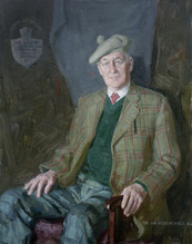 Andrey Burlakov. Portrait of Sir Ian Nobel