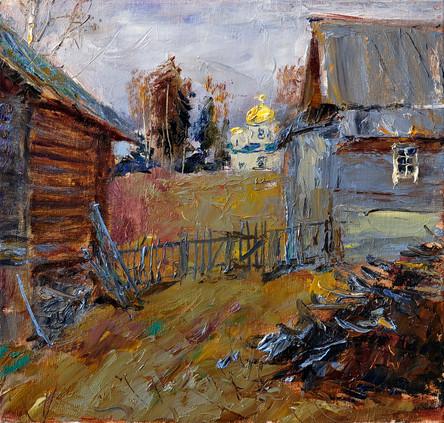 Fedor Olevskiy. Village Pidma.