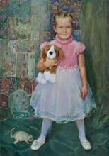 Fedor Olevskiy. Portrait of Polina