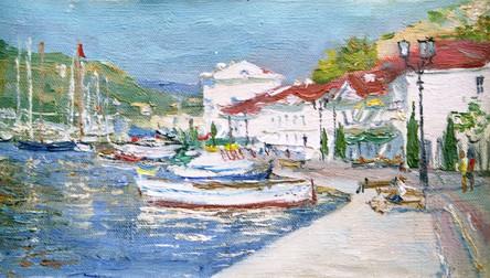 Fedor Olevskiy. A View of Balaclava