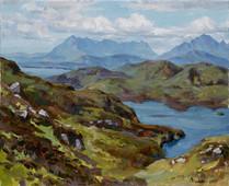 Andrey Burlakov. View of the Isle of Skye