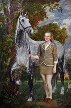 Fedor Olevskiy. Portrait of Diane Bevan
