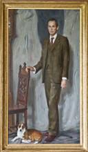 Andrey Burlakov. Portrait of James Bevan