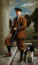 Andrey Burlakov. Portrait of William Ramsay