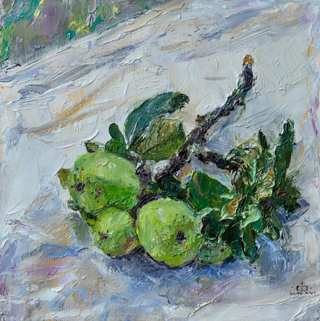 Fedor Olevskiy. Branch with Apples