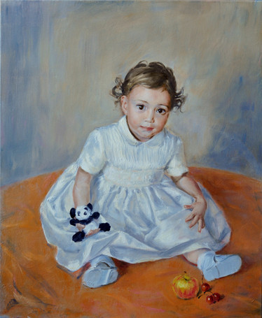 Fedor Olevskiy. Portrait of Tameris Ramsay