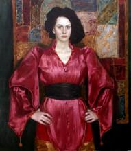 Fedor Olevskiy. Portrait of Maria Mironova