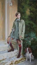 Andrey Burlakov. Portrait of Alexander Bevan.