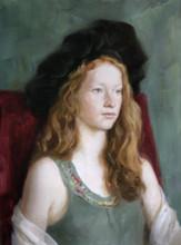 Andrey Burlakov. Portrait of Irene Ramsay