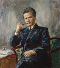 Fedor Olevskiy. Portrait of Nikolay Gordin