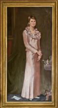 Andrey Burlakov. Portrait of Susan Bevan