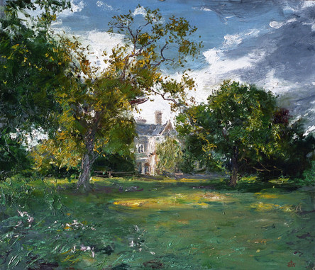 Fedor Olevskiy. Landscape at Bulby Hall No1