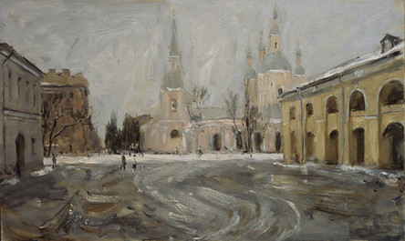 Fedor Olevskiy. St Andrios Cathedral