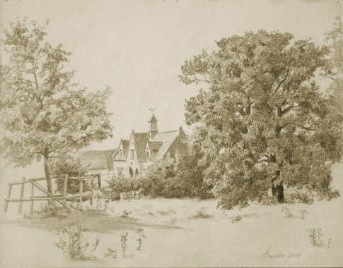 Andrey Burlakov. View of Bulbi Hall no.1