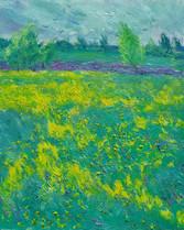 Fedor Olevskiy. Flowering meadow