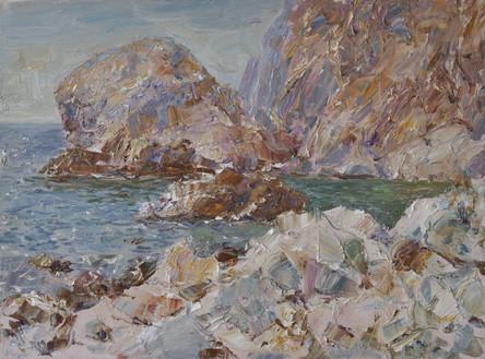 Fedor Olevskiy. Coastal Stones