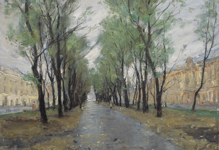 Fedor Olevskiy. Mounted Guards Boulevard