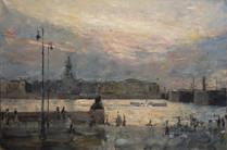 Fedor Olevskiy. White Night in St-Petersburg.