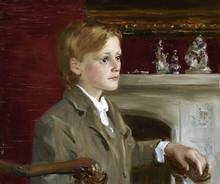 Fedor Olevskiy. Portrait of Alexander Bevan