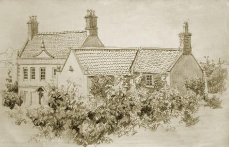 Andrey Burlakov. View of Ermin House No. 2