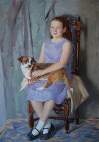 Andrey Burlakov. Portrait of Diane Bevan
