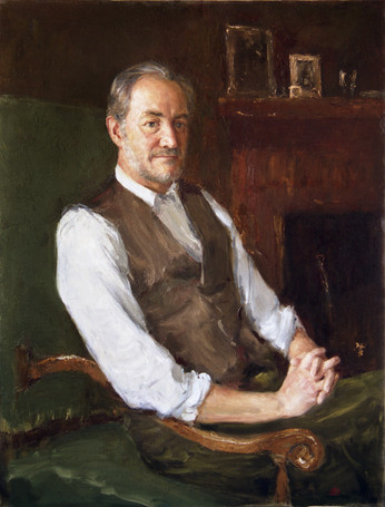 Fedor Olevskiy. Portrait of William Ramsay