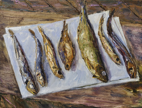 Fedor Olevskiy. Seven Dried Fishes