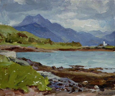 Andrey Burlakov. View of the Isle of Skye