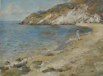 Fedor Olevskiy. Coast of the sea. Sithonia