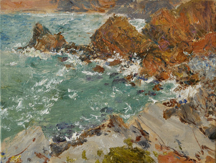 Fedor Olevskiy. Coastal rocks