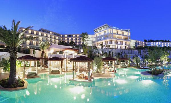 drone estate travel marketing resort photography