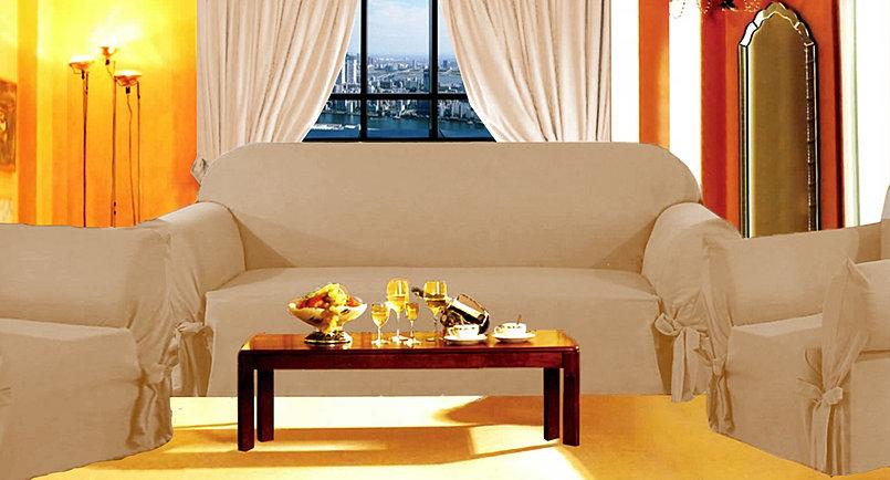 3 Piece Sofa Cover Set
