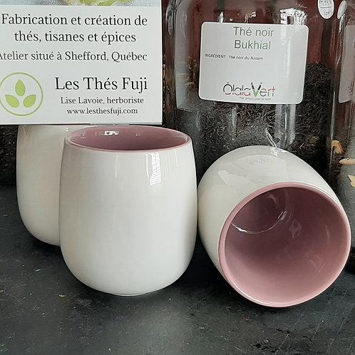 THE0002 - Tasse pour thé - Intérieur lilas